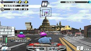 Manic Karts v1.99 (Dos game 1995)