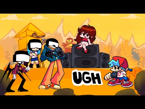 """Friday Night Funkin' but Different Characters Sings """"Ugh"""" (Remastered)"""