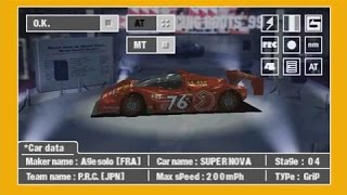 Ridge Racer Type 4 (PS1) - Perfect Grand Prix with P.R.C. / Age Solo