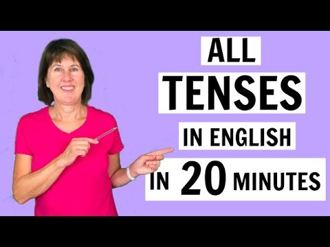 All English tenses in 20 minutes   Present, Past, Future   Simple, Continuous, Perfect