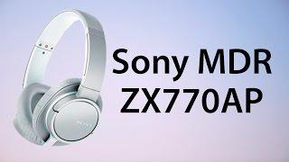 Видеообзор на Наушники Sony MDR-ZX770AP (Review Sony MDR-ZX770AP headphones)(, 2015-12-15T11:56:35.000Z)