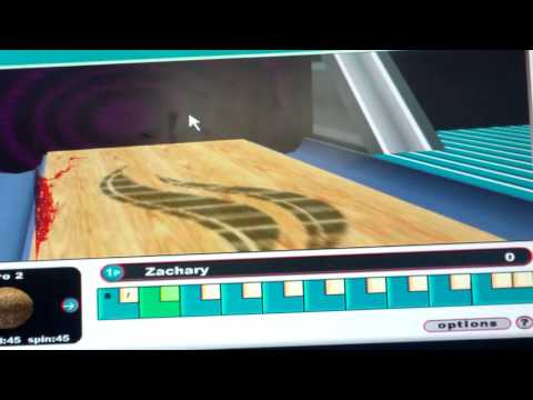 Gutterball Online Gameplay