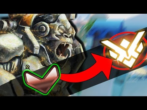 How GRANDMASTER Players DESTROY With WINSTON | XQC - Overwatch Season 7 Competitive Guide
