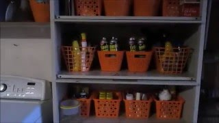 DECLUTTER and ORGANIZE GARAGE ON A BUDGET//DOLLAR TREE BASKETS HELP
