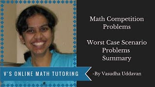 Math Competition Problems - Worst Case Scenario Summary