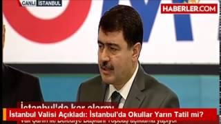 19 Şubat 2015 Okullar tatil mi? Vali Vasip Şahin açıklama yaptı!