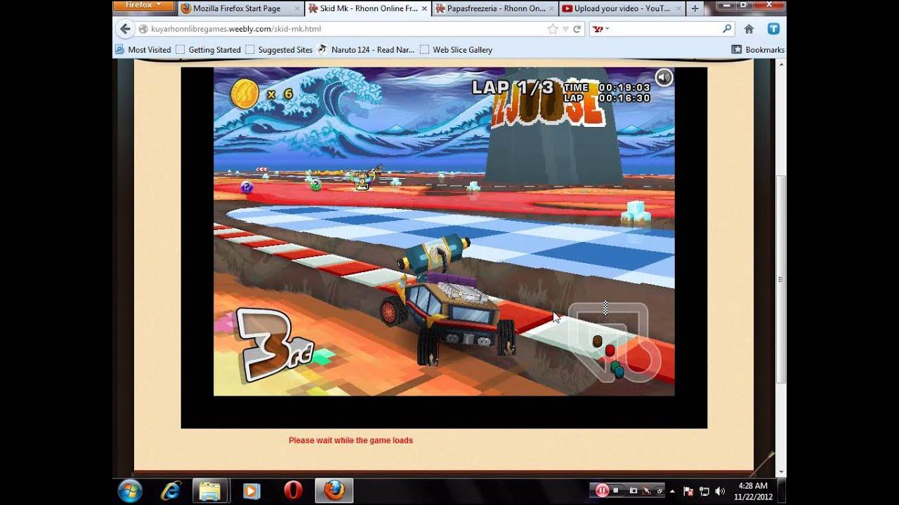 Skid Mk Tutorialanne 28 online, free Games