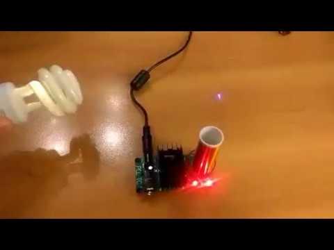 AUMED DIY Mini Music Tesla Coil Kit 15W