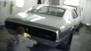 Wetsanding And Buffing The 1968 Camaro