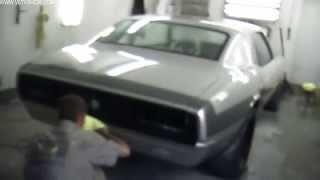 Wetsanding And Buffing The 1968 Camaro