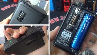 Innokin LiftBox Bastion Mod Unboxing and first tail | Auto feeding |1st. siphon system squonker |