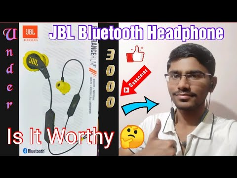 JBL Bluetooth Headphone Unboxing & Full Review ll IN ENGLISH ll