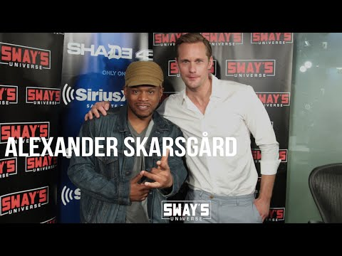 Alexander Skarsgard  on ReCreating the Tarzan Yell & Being Asked to Bite Someone like Vampire Eric