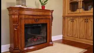 Classicflame Florence Electric Fireplace Mantel In Heritage Cherry | 33wm0615-c203