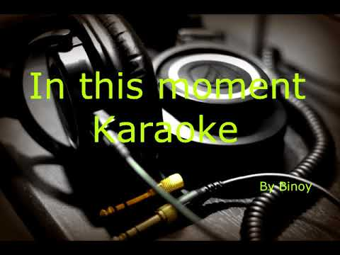 In the moment a tribute to teacher Karaoke only music