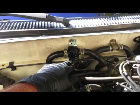 how-to-replace-a-heater-control-valve-on-a-toyota