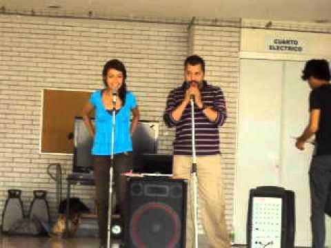 karaoke en la feria del arte UACM