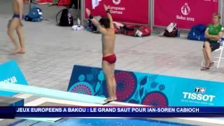 un plongeur mongasque aux jeux europens de bakou