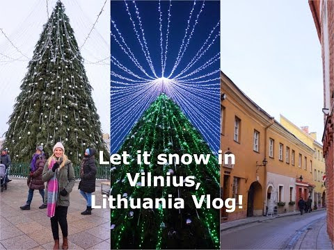 Christmas Weekend Away in Vilnius, Lithuania!