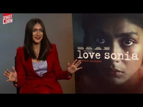 LOVE SONIA   Mrunal Thakur interview   HOT CORN
