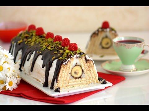 Muzlu Pramit  Pasta ( Pramit  Pasta Yapılışı )
