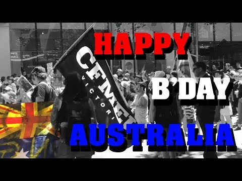 """What happened at the """"Invasion Day"""" Protest and Australia Day Parade 2019 - Vlog"""