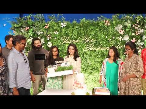 Thank you Shakuntala | Shaakuntalam | Samantha | Gunasekhar | Gunaa Team Works