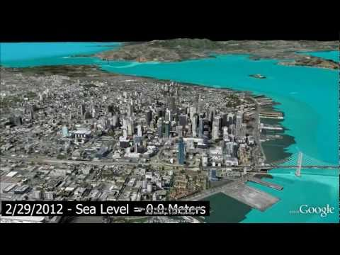RockWorks: EarthApps - Sea Level Rise Simulations (RockWorks16)