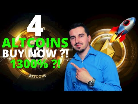 Top 4 Altcoins I'm Buying Now 🚀 | CRYPTO May 2021| 1300% Upside ?! 🚀| Cardano To The Moon ?! 😱 |