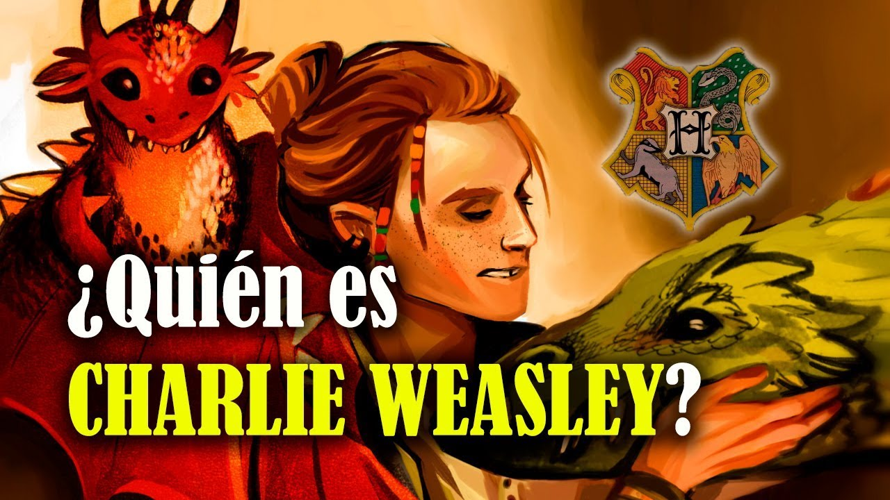 ¿Quién es Charlie Weasley? - YouTubeCharlie Weasley Actor
