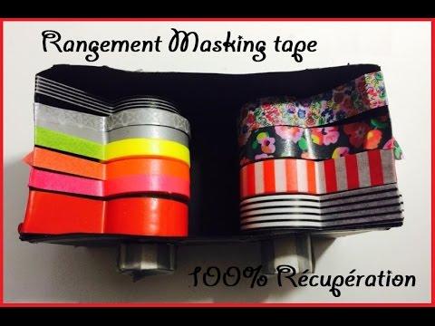 boite de rangement masking tape 100 r cup ration youtube. Black Bedroom Furniture Sets. Home Design Ideas