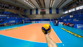 Волейбол от первого лица | VOLLEYBALL FIRST PERSON TRAINING | ZENIT ST. PETERSBURG | 2021 | Полетаев