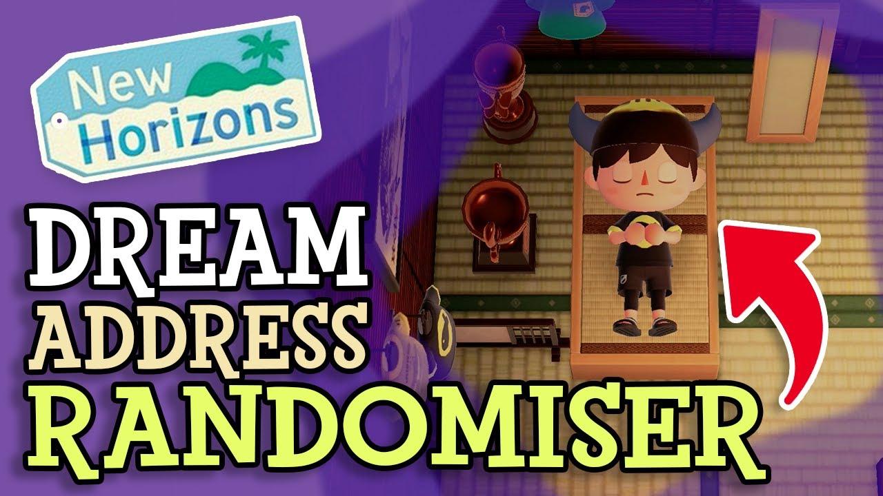 Animal Crossing New Horizons: DREAM ADDRESS RANDOMISER (How To Use Random Dream Island Tool)