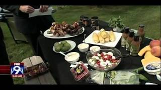 Fourth of July Dessert on the Grill (July 2011 on FOX 9)