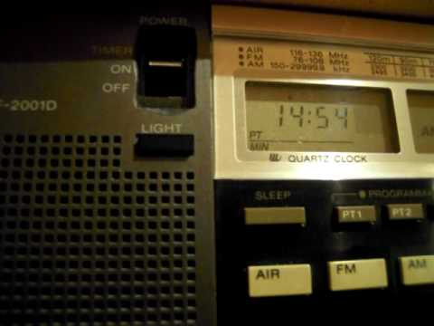 4760kHz / Trans World Radio Swaziland, received in Japan