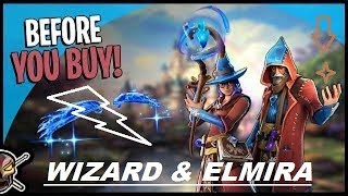 Castro - Elmira 'New' Wizard Skins Unlock!! -- (Fortnite Battle Royale Funny Moments) Gamplay #145