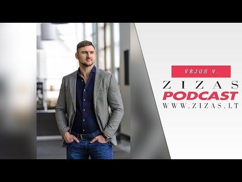 ZizasPodcast #10: Vėjus Vietrinas