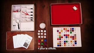 01 - Les règles du jeu de société Sudokyam : la boite