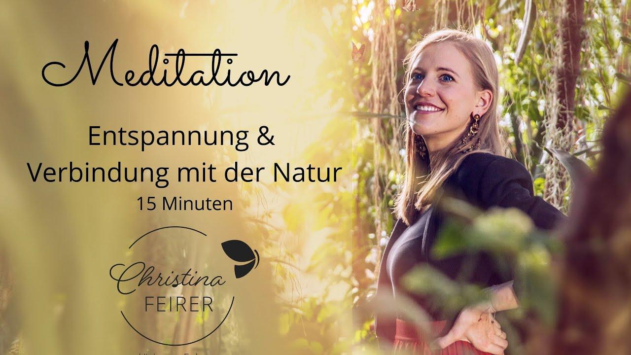 Meditation: Entspannung I Stressabbau I Sonne I Verbindung mit der Natur (15 Minuten)
