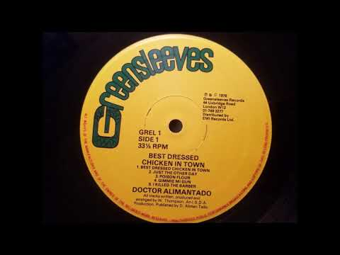 Dr. Alimantado - Best Dressed Chicken - Greensleeves LP -1979