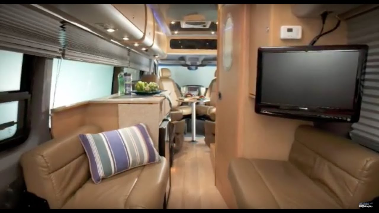 Exceptional Airstream Interstate Mercedes Benz Sprinter Luxury Motorhome RV   Crash  Course   YouTube