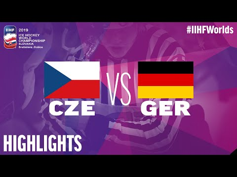 Czech Republic vs. Germany - Game Highlights