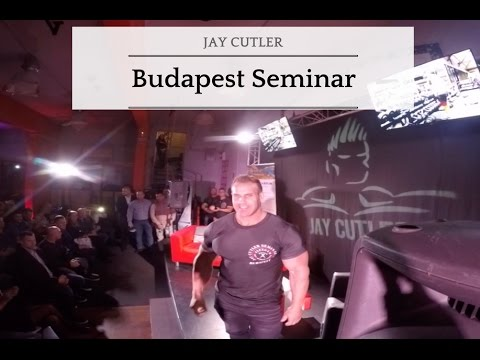 Jay Cutler in Budapest Part 1