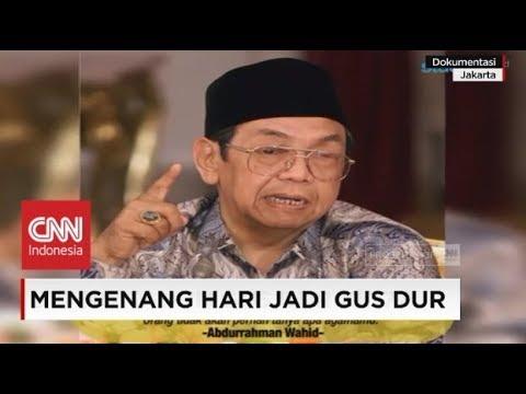 Mengenang Hari Jadi Gus Dur, Presiden Indonesia ke-4