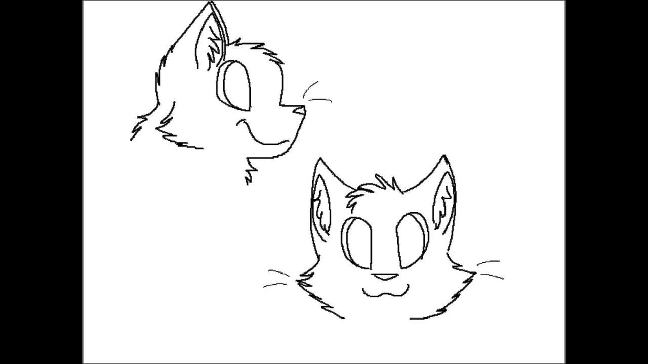 Uncategorized Cat Head Drawing how to draw a cat head in 4 easy steps youtube