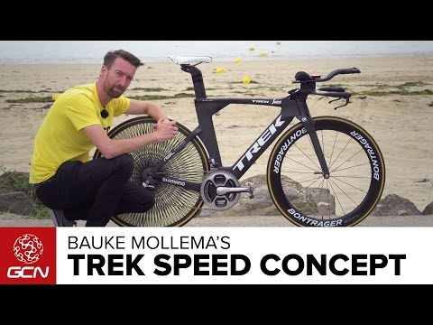 Bauke Mollema's 'Raw' Trek Speed Concept