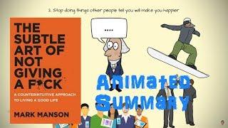 Die Subtile Kunst, Nicht Geben ein F*ck Animierte Zusammenfassung