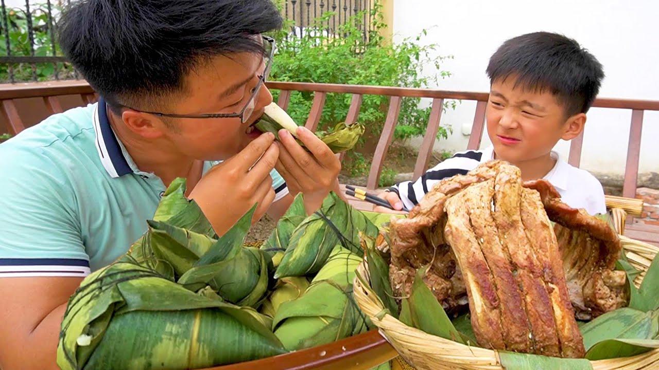 """端午节有味大餐,大sao包""""臭豆腐粽子"""",重口味新吃法过口不忘!【徐大sao】"""