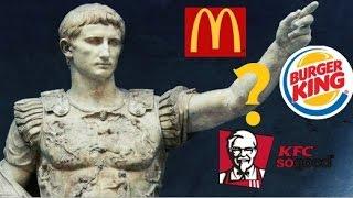 [Видео перезалито ссылка в описании] ОБЗОР на Салат Цезарь из KFC, Mcdonald's и Burger King