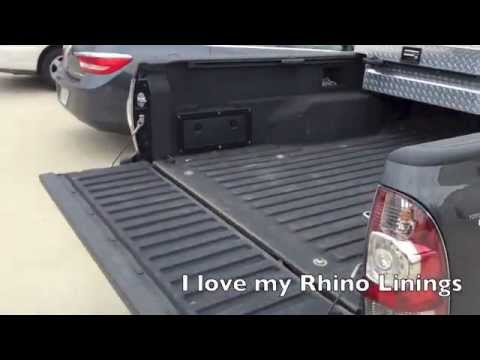 Rhino Truck Bed Liner >> Rhino Liner Say Yes And You Will Not Regret It Truck Bed Liner